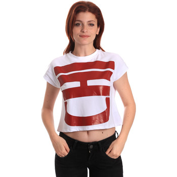 T-shirt με κοντά μανίκια Fornarina BE175L31JG0709