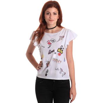 T-shirt με κοντά μανίκια Fornarina BE175L40JG0709