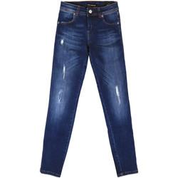 Υφασμάτινα Γυναίκα Boyfriend jeans Fornarina BER1I89D844UA Μπλε