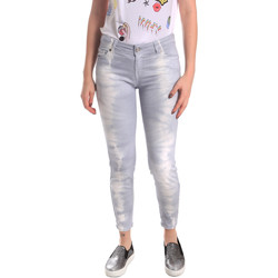 Υφασμάτινα Γυναίκα Boyfriend jeans Fornarina BER1L01D851GD Γκρί