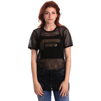 Υφασμάτινα Γυναίκα Μπλούζες Fornarina SE175J69H26600 Μαύρος