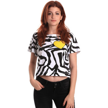 Υφασμάτινα Γυναίκα T-shirt με κοντά μανίκια Fornarina SE175L35JG0700 Μαύρος