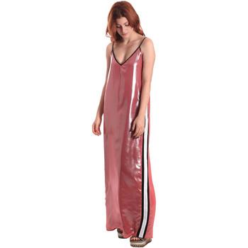 Υφασμάτινα Γυναίκα Μακριά Φορέματα Fornarina SE178D61CA05E9 Ροζ