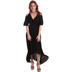 Υφασμάτινα Γυναίκα Μακριά Φορέματα Fornarina SE178D69CA2000 Μαύρος