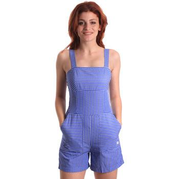 Υφασμάτινα Γυναίκα Ολόσωμες φόρμες / σαλοπέτες Fornarina SE178D80CA1411 Μπλε