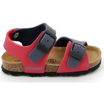 Παπούτσια Παιδί Σανδάλια / Πέδιλα Grunland SB0025 το κόκκινο