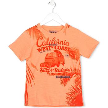 Υφασμάτινα Παιδί T-shirt με κοντά μανίκια Losan 713 1022AA Πορτοκάλι