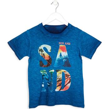 Υφασμάτινα Αγόρι T-shirt με κοντά μανίκια Losan 713 1023AA Μπλε