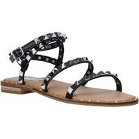 Παπούτσια Γυναίκα Σανδάλια / Πέδιλα Steve Madden SMSTRAVEL-BLK Μαύρος