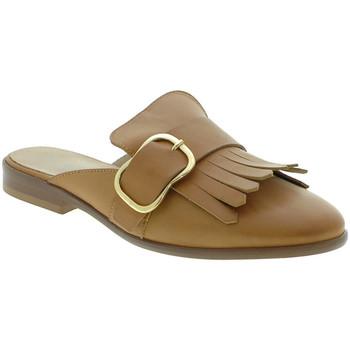 Παπούτσια Γυναίκα Σαμπό Mally 6116 καφέ