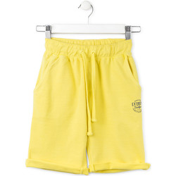 Υφασμάτινα Παιδί Σόρτς / Βερμούδες Losan 713 6016AA Κίτρινος