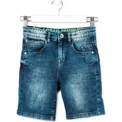 Υφασμάτινα Αγόρι Σόρτς / Βερμούδες Losan 713 9006AA Μπλε