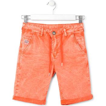 Υφασμάτινα Παιδί Σόρτς / Βερμούδες Losan 713 9010AA Πορτοκάλι