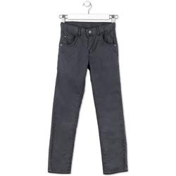 Υφασμάτινα Παιδί Παντελόνια Πεντάτσεπα Losan 713 9015AA Γκρί