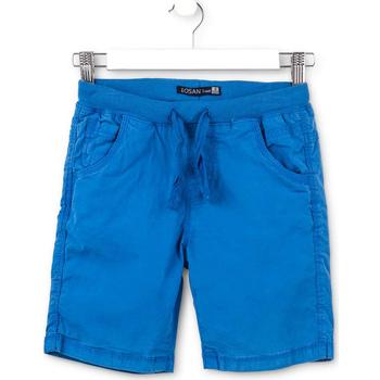Υφασμάτινα Παιδί Σόρτς / Βερμούδες Losan 713 9665AA Μπλε