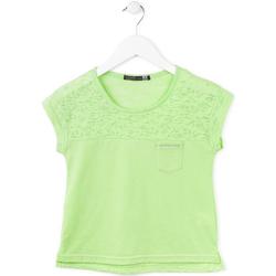 Υφασμάτινα Κορίτσι T-shirt με κοντά μανίκια Losan 714 1013AB Πράσινος