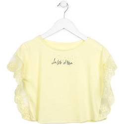 Υφασμάτινα Κορίτσι Μπλούζες Losan 714 1032AB Κίτρινος