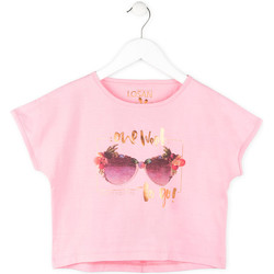 Υφασμάτινα Κορίτσι T-shirt με κοντά μανίκια Losan 714 1200AB Ροζ