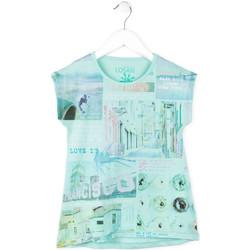 Υφασμάτινα Κορίτσι T-shirt με κοντά μανίκια Losan 714 1215AB Μπλε