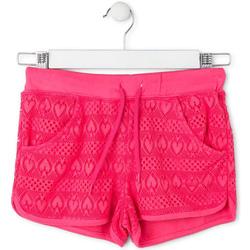 Υφασμάτινα Κορίτσι Μαγιώ / shorts για την παραλία Losan 714 6010AB Ροζ