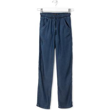 Υφασμάτινα Παιδί Τζιν σε ίσια γραμμή Losan 714 9013AB Μπλε