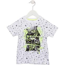 Υφασμάτινα Παιδί T-shirt με κοντά μανίκια Losan 715 1008AC λευκό