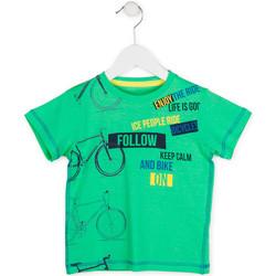 Υφασμάτινα Αγόρι T-shirt με κοντά μανίκια Losan 715 1014AC Πράσινος