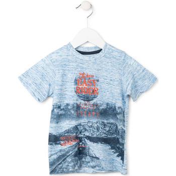 Υφασμάτινα Αγόρι T-shirt με κοντά μανίκια Losan 715 1018AC Μπλε