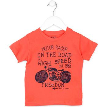Υφασμάτινα Παιδί T-shirt με κοντά μανίκια Losan 715 1215AC Πορτοκάλι