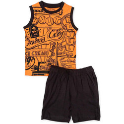 Υφασμάτινα Αγόρι Σετ Losan 715 8043AC Πορτοκάλι