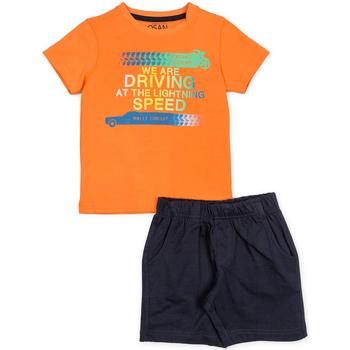 Υφασμάτινα Αγόρι Σετ Losan 715 8047AC Πορτοκάλι
