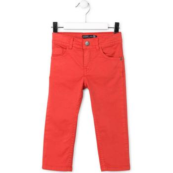 Υφασμάτινα Παιδί Παντελόνια Πεντάτσεπα Losan 715 9650AC το κόκκινο