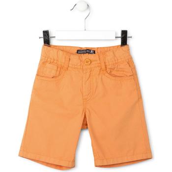 Υφασμάτινα Αγόρι Σόρτς / Βερμούδες Losan 715 9655AC Πορτοκάλι