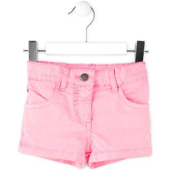 Υφασμάτινα Κορίτσι Σόρτς / Βερμούδες Losan 716 9652AD Ροζ