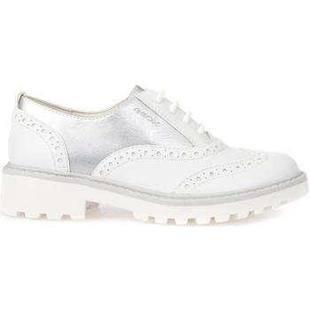 Παπούτσια Παιδί Derby Geox J6420F 054AJ λευκό