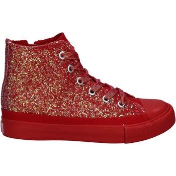 Παπούτσια Κορίτσι Ψηλά Sneakers Lulu LV010077S το κόκκινο
