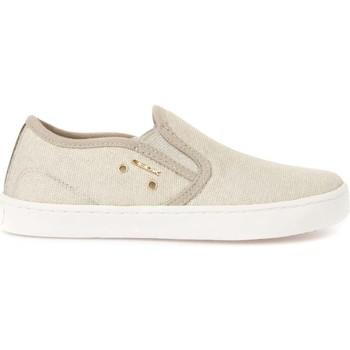 Παπούτσια Παιδί Slip on Geox J72D5F 00011 Μπεζ