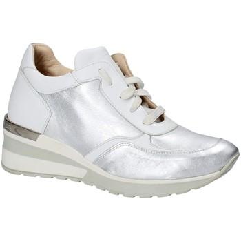 Παπούτσια Γυναίκα Χαμηλά Sneakers Exton E06 Ασήμι