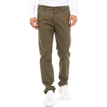 Υφασμάτινα Άνδρας Παντελόνια Chino/Carrot Gas 360704 Πράσινος