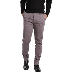 Υφασμάτινα Άνδρας Παντελόνια Chino/Carrot Gas 360704 Γκρί