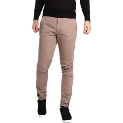Υφασμάτινα Άνδρας Παντελόνια Chino/Carrot Gas 360704 Μπεζ
