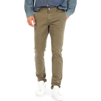 Υφασμάτινα Άνδρας Παντελόνια Chino/Carrot Gas 360702 Πράσινος