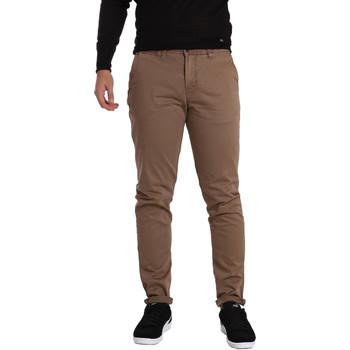 Υφασμάτινα Άνδρας Παντελόνια Chino/Carrot Gaudi 721BU25006 καφέ