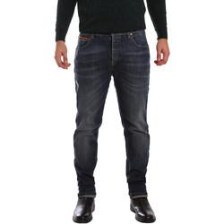 Υφασμάτινα Άνδρας Skinny Τζιν  3D P3D1 2667 Μπλε