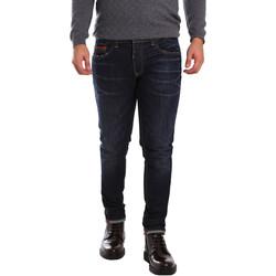 Υφασμάτινα Άνδρας Skinny Τζιν  3D P3D6 2659 Μπλε