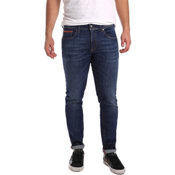Υφασμάτινα Άνδρας Skinny Τζιν  3D P3D6 2667 Μπλε