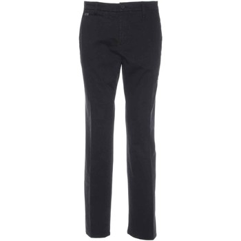 Υφασμάτινα Άνδρας Παντελόνια Chino/Carrot Nero Giardini A770010U Μαύρος