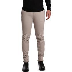 Υφασμάτινα Άνδρας Παντελόνια Chino/Carrot Sei3sei PZV21 7275 Μπεζ