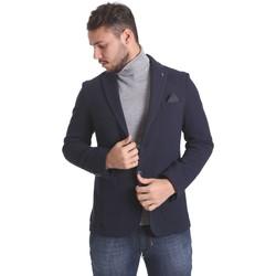 Υφασμάτινα Άνδρας Σακάκι / Blazers Sei3sei PZG9 7291 Μπλε