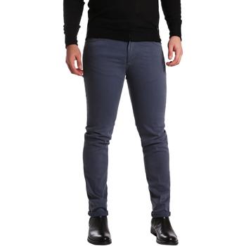 Υφασμάτινα Άνδρας Παντελόνια Πεντάτσεπα Sei3sei PZV16 7239 Μπλε